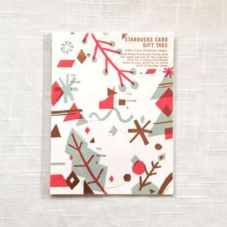 Starbucks Card Gift Tags - US