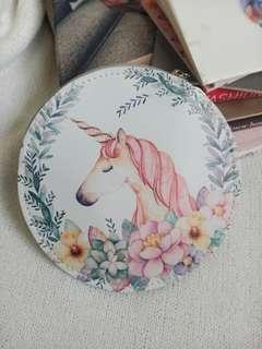 Flower Unicorn Coin Purse