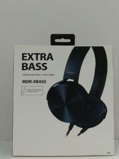 🚚 EXTRA BASS MDR-XB450