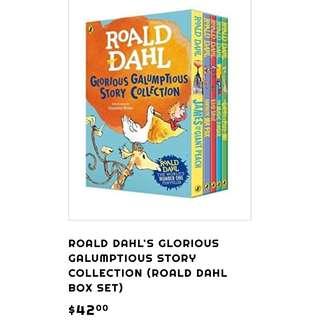 Eric carle & Road Dahl book sets
