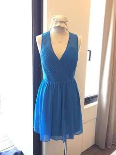🚚 A/X 湖水藍洋裝