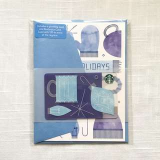 Starbucks Card with Greeting Card and Envelope - US
