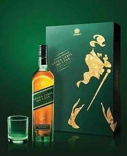 Johnnie walker green label 1liyer