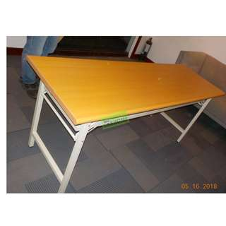 Training Table w second layer 180wx60dx74h BEECHWOOD COLOR