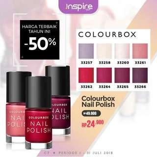 Cutek - nail polish colourbox
