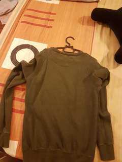 H&M sweater Olive green