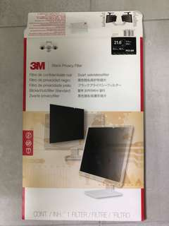 3M privacy filter (Model: PF21.6W)