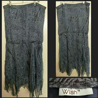 Wish Strapless Dress 14