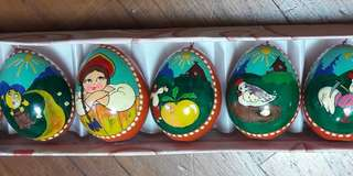 Easter eggs for decoration