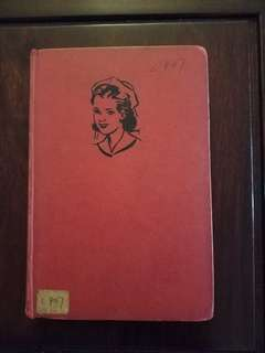 Vintage book Cherry Ames Companion Nurse by Helen Wells