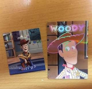 迪士尼貼紙&閃咭 - 胡迪