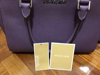 Michael Kors bag 紫色袋