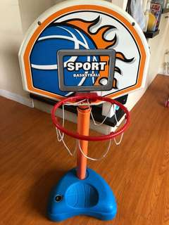 Basketball ring for toddlers