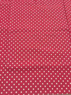 🚚 Huge Red Poka dot Cloth