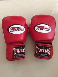 Muaythai glove twins
