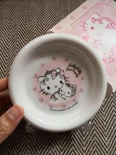 Hello Kitty細 碟  可作 裝飾擺設