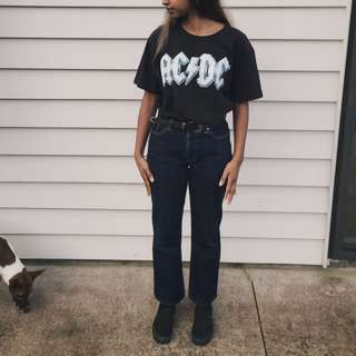 Vintage Jeans West High Waisted Jeans