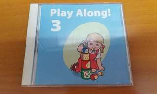 迪士尼美語世界 Play Along 3 CD (Disney World of English, DWE)