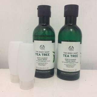 Share theBodyShop Tea Tree Facial Wash 25mL