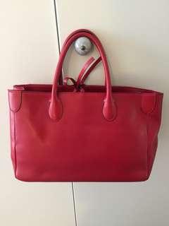 紅色手挽袋