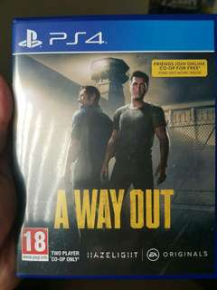 Ps4 Game-  A Way Out