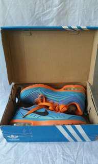 Sepatu NIKE AIRMAX blue orange / biru oranye air max preloved sepatu wanita bagus