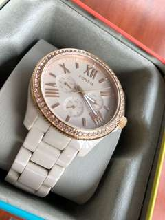 Fossil Ceramic Watch For Sale