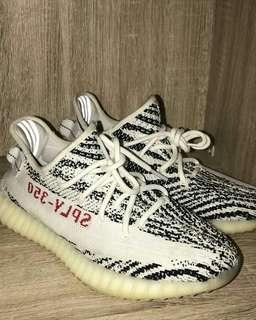 Adidas Yezzy V2 Zebra 100% Original