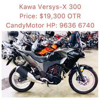 Kawa Versys-X 300