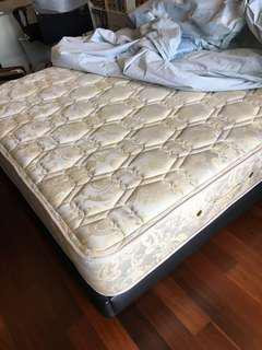 SIMMON Queen Size Bed Mattress - BackCare 4