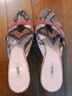 Miumiu High Heel 涼鞋 38.5 99% new