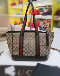 BRAND NEW Gucci Pet Bag / Diaper Bag ❤️BIG SALE P38k ONLY❤️ With dustbag cards and paperbag Swipe for detailed pics  Cash/layaway accepted