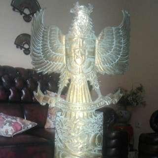 Garuda Pancasila Antik Klasik Bahan Mortir