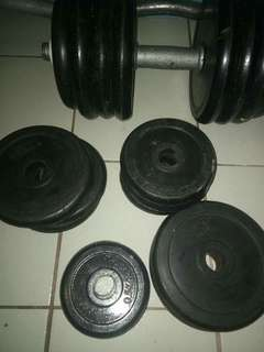 Dumbell and barbell equipment
