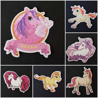 C7 Unicorns Part 3 of 5 Sticker Stickers
