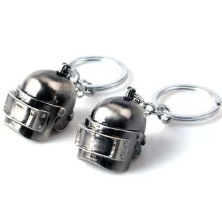 Gantungan kunci / key chain PUBG helm lv3