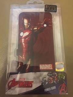 全新 Marvel Ironman powerbank 8000mAh