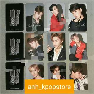 """(PO) NCT """"chain"""" photocards"""