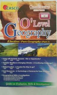 """""""O' Level Geography (Elective/Pure Full Geography part 1 & 2)"""