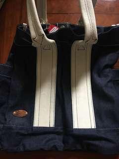 Korean brand 牛仔布袋