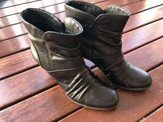Air flex heeled boots for sale
