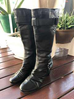 Airflex knee high leather boots for sale
