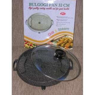Bulgogi Pan 32 cm Alat Panggang Bakar Panci Griller Pan Korea