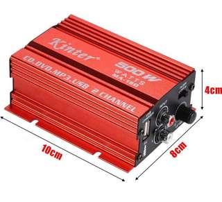 Kinter MA-150 channel mini amplifier