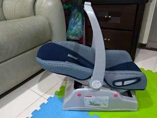嬰兒 提籃汽座(贈chicco嬰兒背巾)