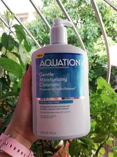 Aquation Moisturizing Cleanser and Cream