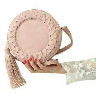 Round Tassel Bag