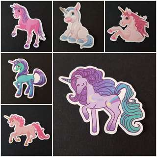 🚚 C7 Unicorns Part 4 of 5 Sticker Stickers