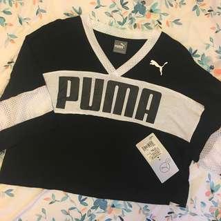 🚚 Puma短版拼色上衣