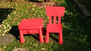 Meja Kursi Mammut Ikea / meja kursi anak